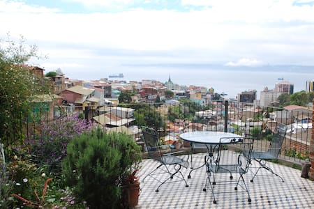 Awesome view, Valparaiso Terrace