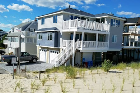 Ocean Front, 90th St, 5 bdrm 3.5 bath - Long Beach Township - House