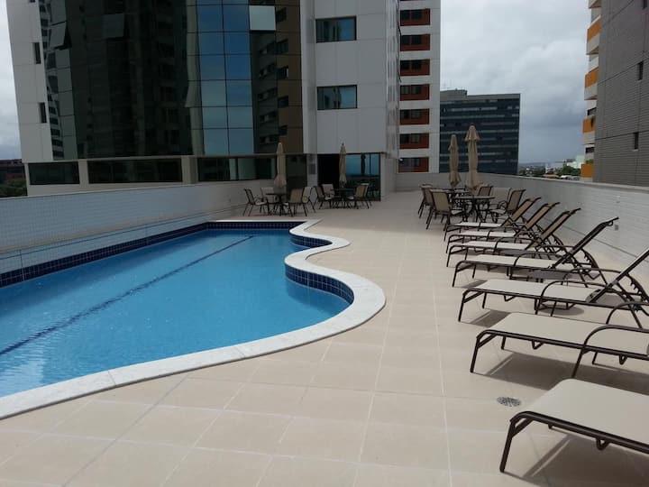 Hotel e Flat à beira mar de Boa viagem