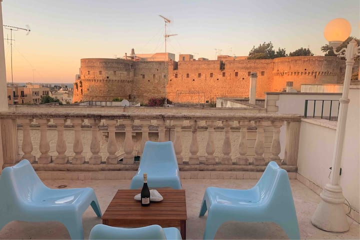 Otranto Castle Terrace House - Castello Otranto