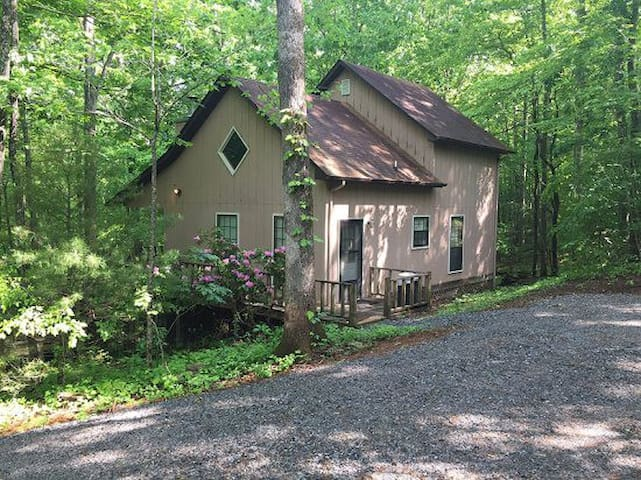 Harmony Ridge 2 Bedroom cabin in the woods with lots of privacy, Internet