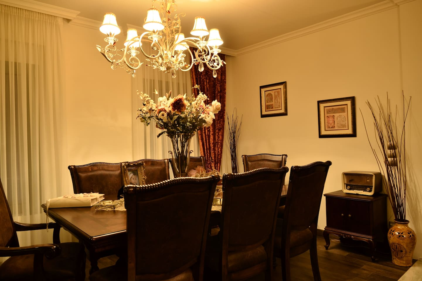 Aspect of the dinning room