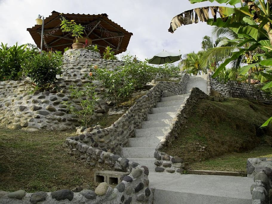 Stairway to Rancho & Beach