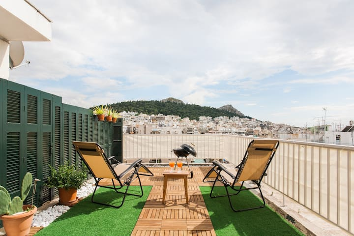 Penthouse with Fantastic View & Private HugTerrace
