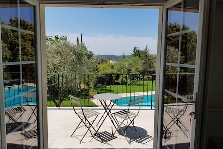 Independent Suite Valbonne A/C, Pool, terrace