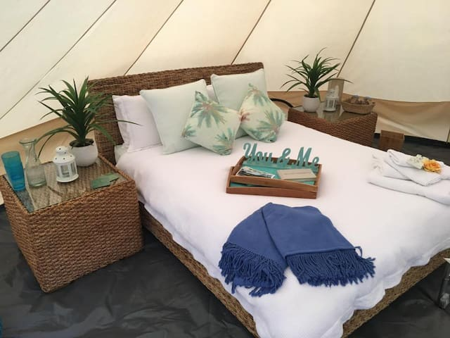 """Tee Pee Glamping"" in Byron Hinterland"