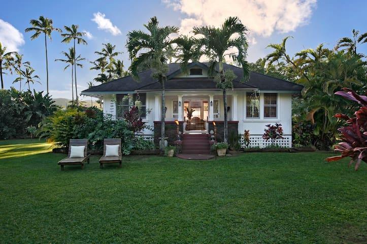 Ohana House: Plantation-Style Historical Home