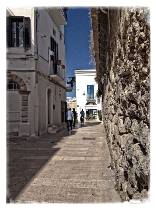 Strada Murattiana quartiere