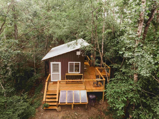 ❤️ REMOTE Off-Grid Tiny House | Hiking | Fishing