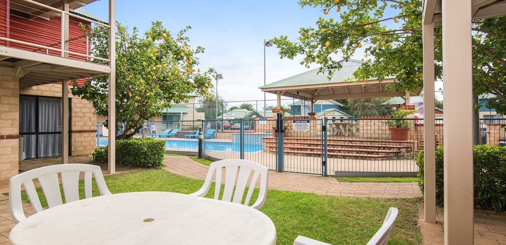 Resort style living in Busselton - Poolside Villa