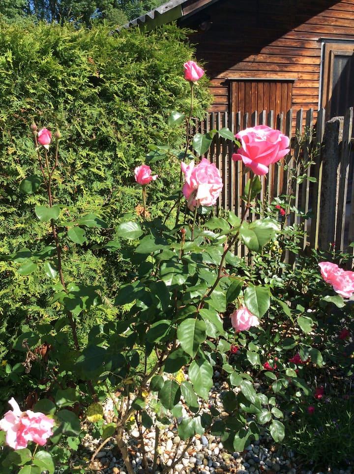 Haus in ruhiger, idyllischer Lage mit Garten