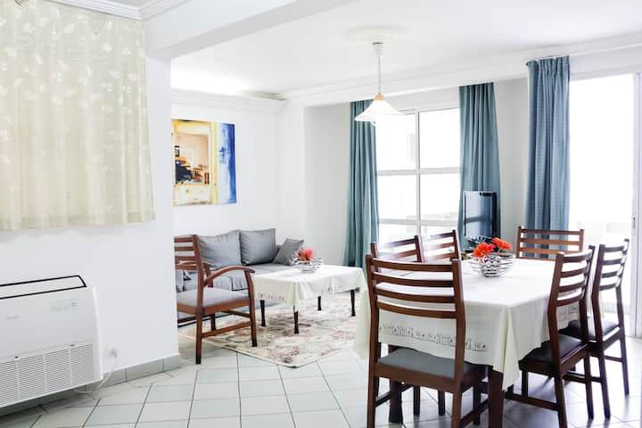 appartement duplex meublé de 02 chambres Bonapriso