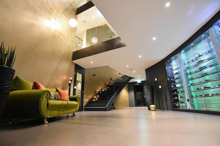 Lifestyle-Doppelzimmer mit Dusche/WC - Tägerwilen - Boutique-hotell