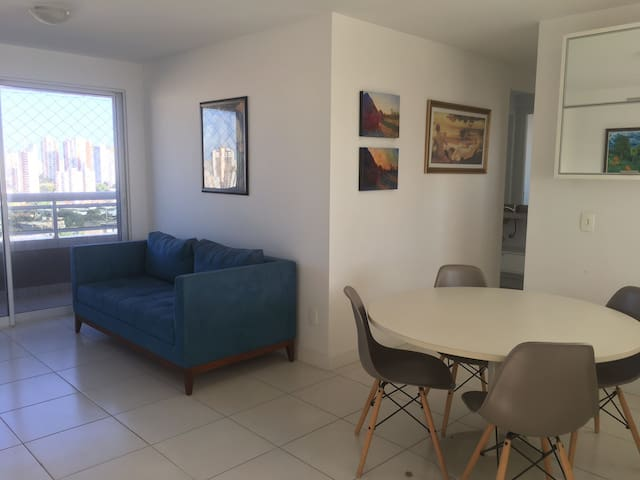 Seu apartamento em Fortaleza, se sinta em casa.