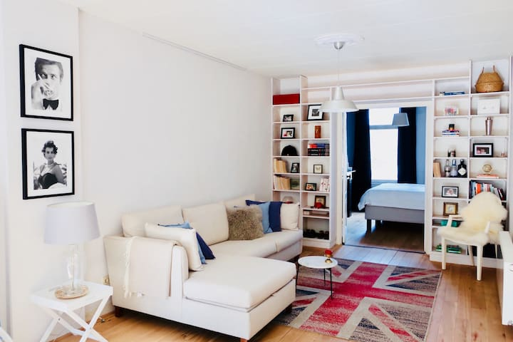 Beautiful central parkside appartment with terrace