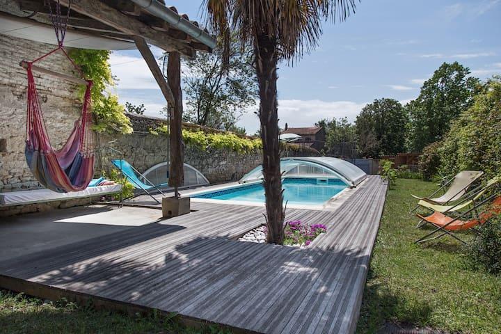Belle maison méridionale Lauragais - Villefranche-de-Lauragais - House