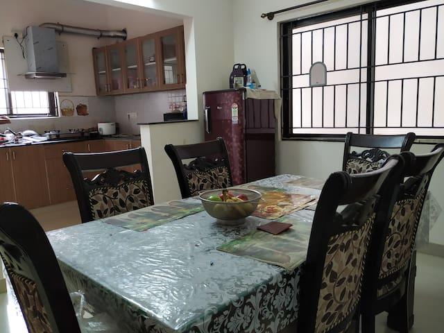 2 Bedroom with Kitchen in 3 BHK near Manyata