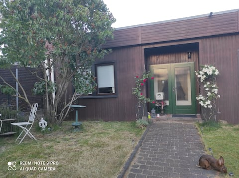 Bungalow with garden Holiday home to yourself.