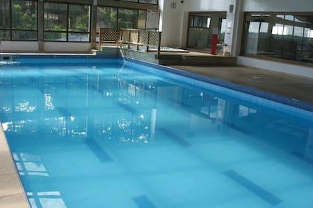 Gramado Flat Alpenhaus 4 pessoas - Flat de Luxo - 格拉玛多 - 酒店式公寓