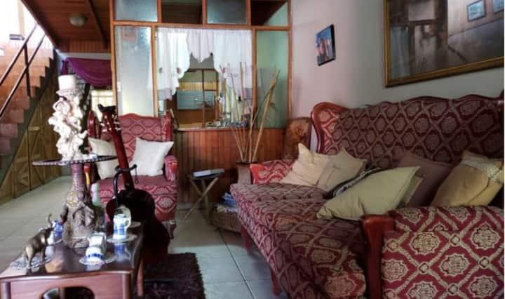Habitación doble económica #1 Casa de Maria