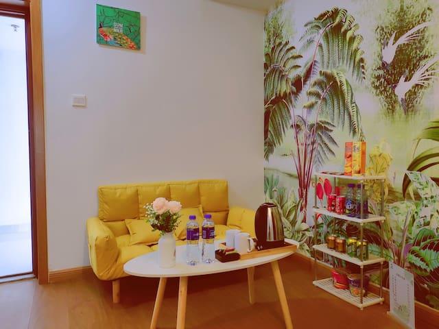 万达原鱼公寓-热带风情舒适套房