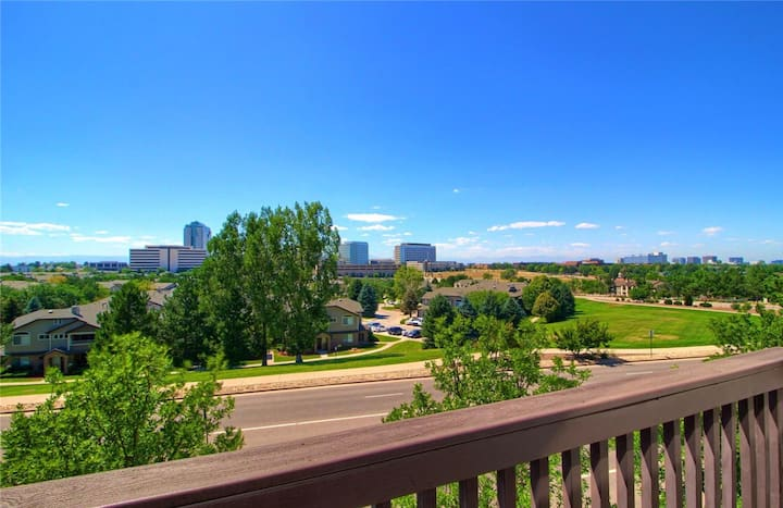 Beautiful And Updated 1 Bedroom In DTC W/ VIEWS!