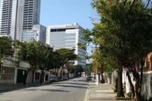 Rua do condominio