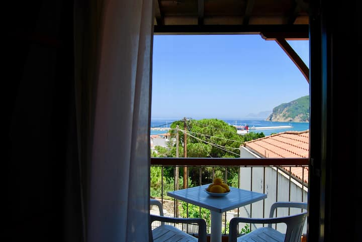 Sea Breeze Studio Double - SEA VIEW SKOPELOS TOWN