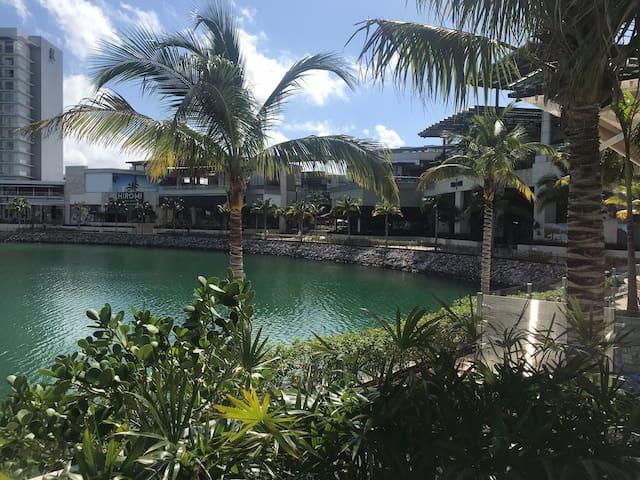 Puerto Cancún, depto. nuevo, lujo, de diseñador
