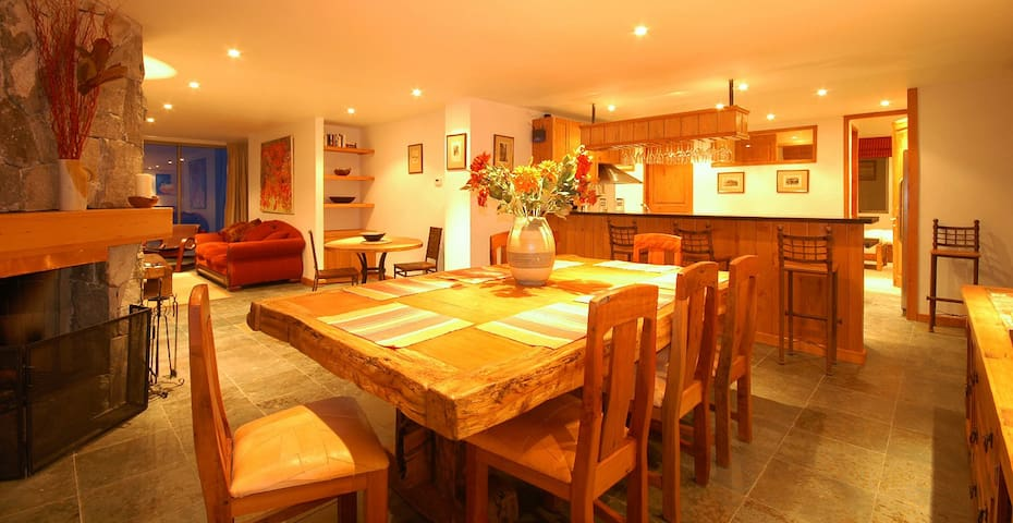Casa Farellones Lower Apartment - for great skiing - Lo Barnechea - Chalet