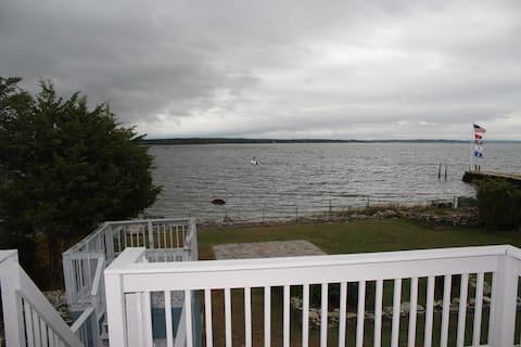 Ocean front home.
