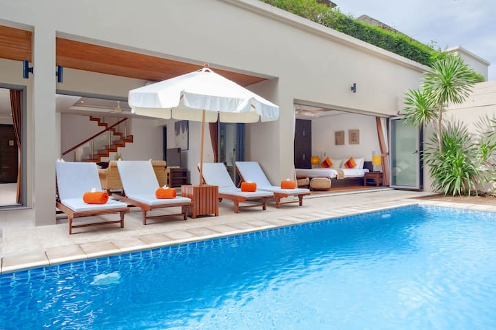 Family suite 3 bed room pool villa