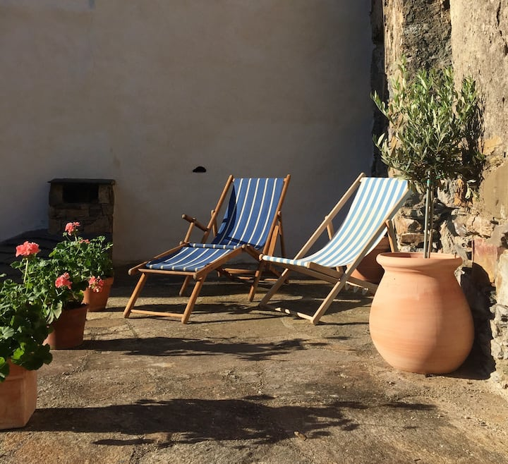 Romantic getaway in the heart of Roquebrun