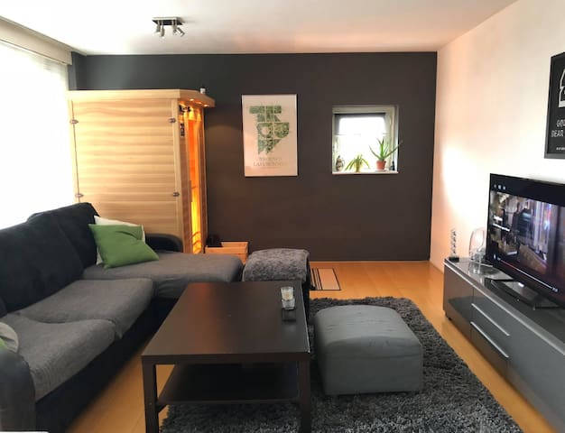 Cosy and relaxing 2-room apartment with Sauna
