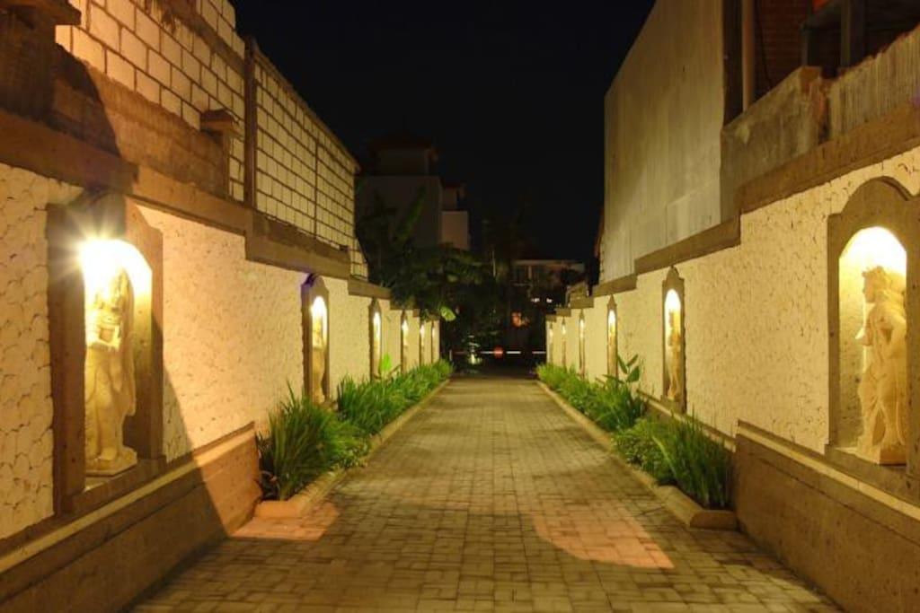 Villa Main Enterance