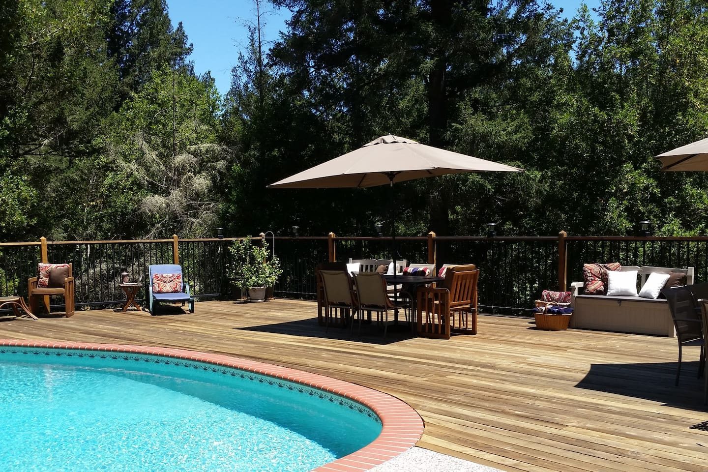 Spacious Deck and Pool