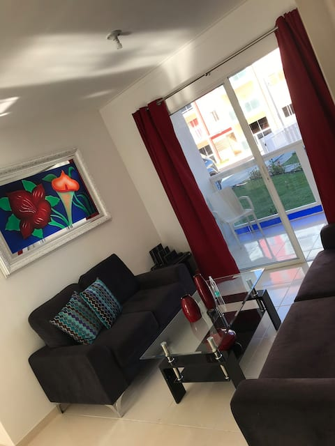Gorgeous full apartment at Caleta Beach