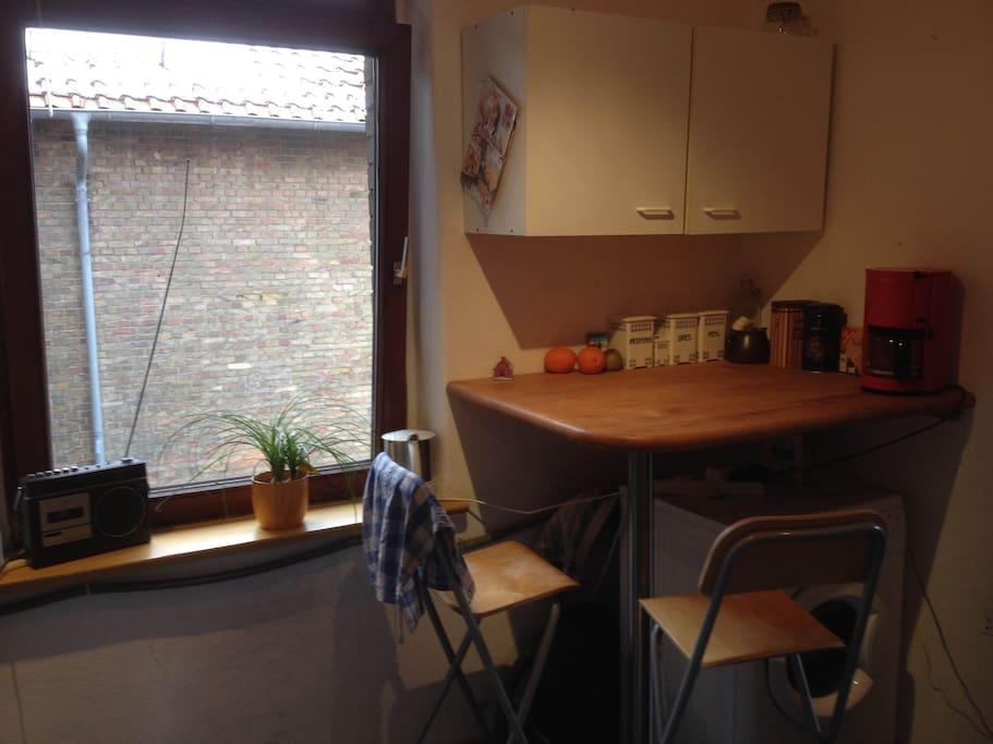 Sitzgelegenheit in der Küche