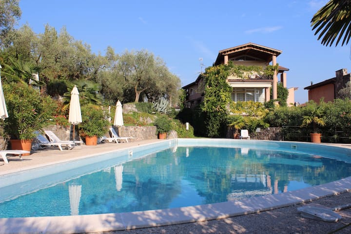 Casa Monica am Gardasee mit Pool - Cortina - Flat