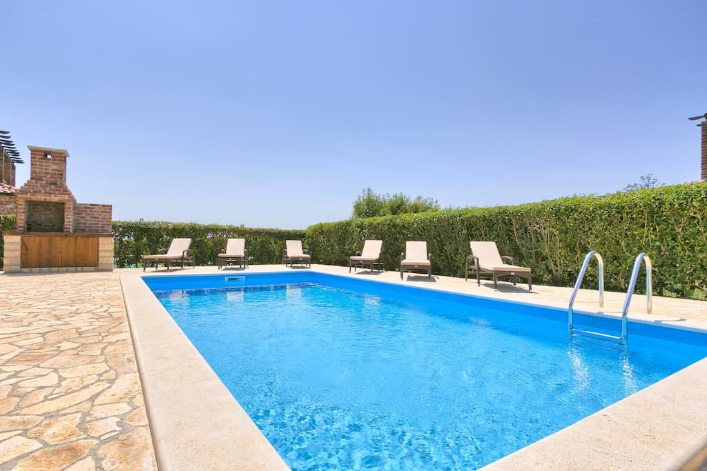 Villa Zoe in Istria with 32m2 Pool that will refresh your summer