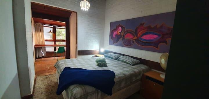 Room with 2 single beds - Casa do Alemão Q1