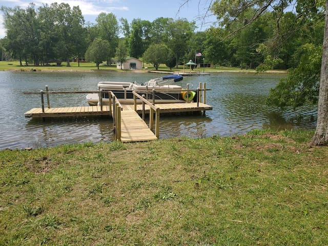 Private Gate, Boat Ramp, Level Lot, Great Fishing