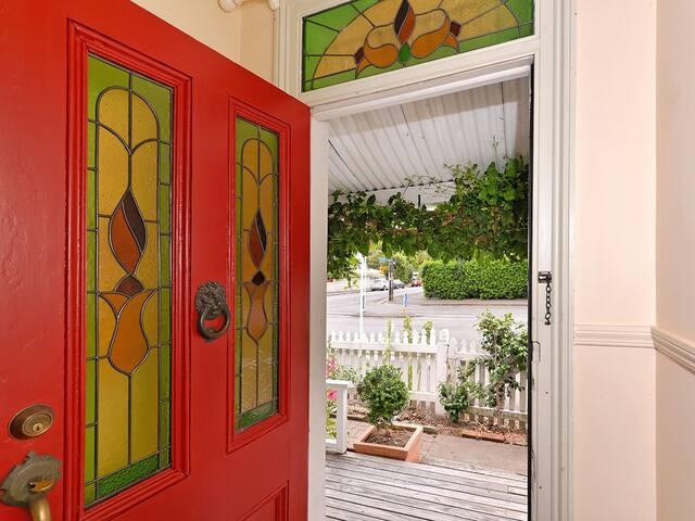 Red Door - Entrance