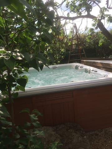 cabanon gite - Pernes-les-Fontaines - Allotjament sostenible a la natura
