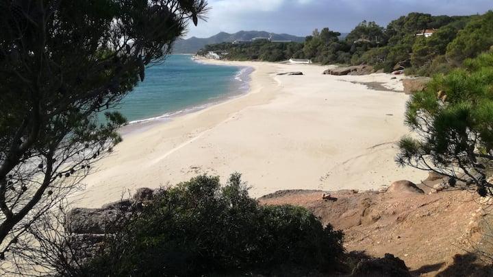 Calaverde - Pula Villetta Y 200 mt dalla spiaggia
