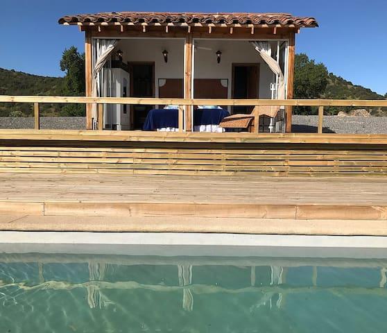 Casita/pool house suite
