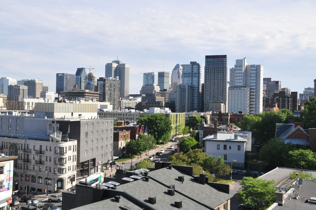 Dazzling View Of Montreal City Mount Royal Plateau Apartments For Rent In Montr Al Qu Bec Canada