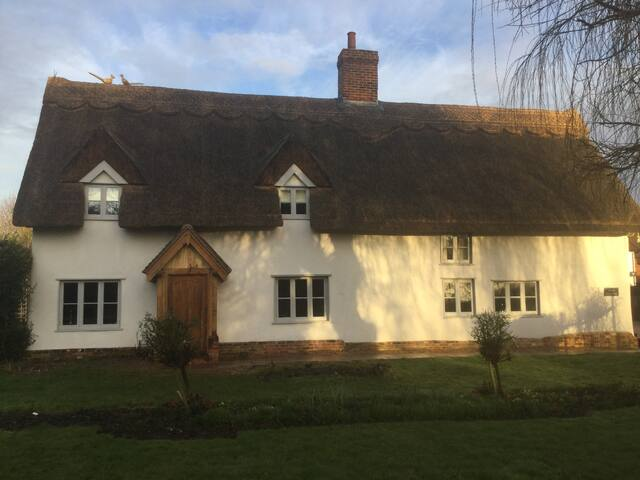 Traditional 16th century Suffolk Farmhouse