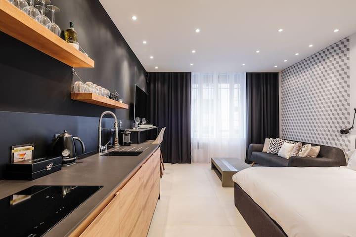 Appart design & confortable au centre de Niort - Niort - Apartmen