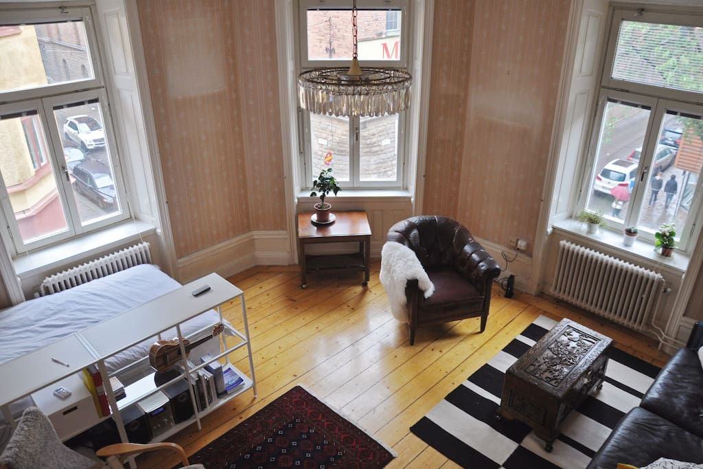 Ruim Apartment In Het Centrum Van Stockholm
